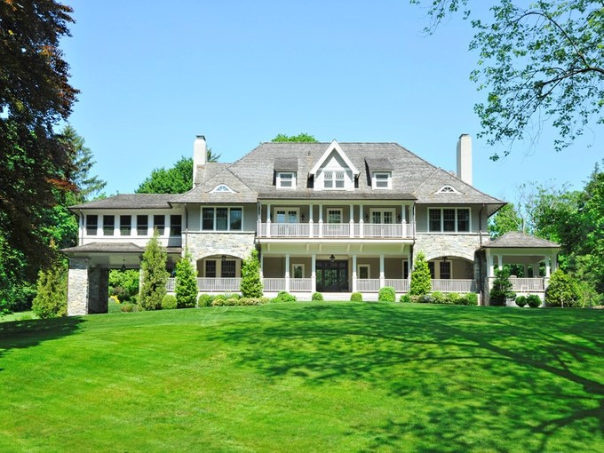 Single Family Home for sales at Enchanting Estate on an In-Town Lane  Greenwich, Connecticut 06830 United States
