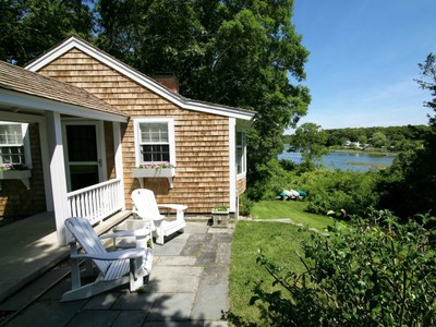 Single Family Home for sales at Secret Cape Cod Waterfront 128 Starboard Lane Osterville, Massachusetts 02655 United States