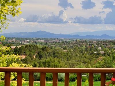 Casa Unifamiliar for sales at 1024 Mansion Ridge Road  Santa Fe, New Mexico 87501 United States
