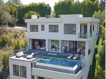 Single Family Home for sales at Custom Built Home With View In Bel Air    Los Angeles, California 90077 United States