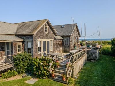 独户住宅 for sales at Spectacular Oceanfront, Best Location 35 Gibson Lane Sagaponack, 纽约州 11962 美国