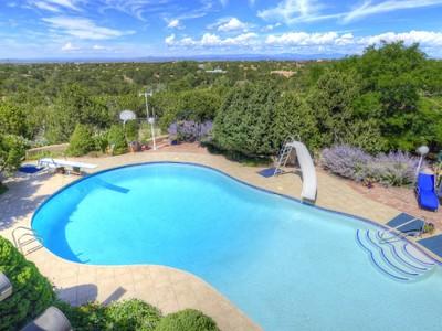 Maison unifamiliale for sales at 161 Arroyo Hondo Road   Santa Fe, New Mexico 87508 États-Unis