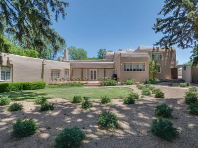 Single Family Home for sales at 461 and 465 Camino De Las Animas 461 & 465 Camino De Las Animas Santa Fe, New Mexico 87501 United States