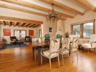 Nhà ở một gia đình for sales at 1523 & 1519 Upper Canyon Road  Santa Fe, New Mexico 87501 Hoa Kỳ