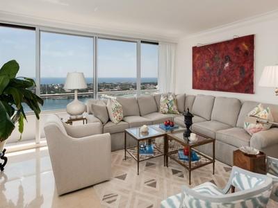 共管式独立产权公寓 for sales at Trump Plaza - 29th Floor 529 S Flagler Dr 29e West Palm Beach, 佛罗里达州 33401 美国