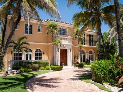 Single Family Home for sales at Beautiful Palm Beach Residence 1072 N Ocean Blvd  Palm Beach, Florida 33480 United States