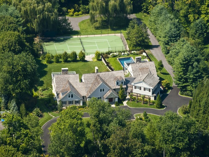 Single Family Home for sales at Sophisticated Country Retreat  Greenwich, Connecticut 06831 United States