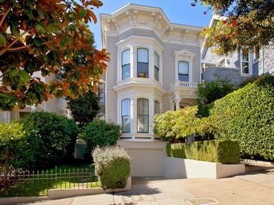 Single Family Home for sales at Italianate Victorian Home 2197 Divisadero St  San Francisco, California 94115 United States