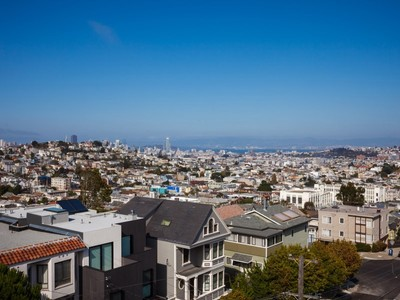 Single Family Home for sales at Stunning View Home Atop Noe Valley 4331 26th St San Francisco, California 94131 United States
