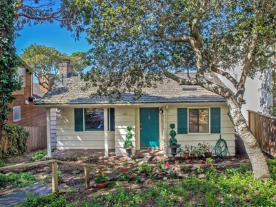 Single Family Home for sales at Delightful Cape Cod-Style Carmel Cottage 5 Nw Santa Fe & 5th Carmel By The Sea, California 93921 United States