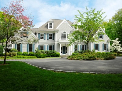 Single Family Home for sales at Country Elegance 15 Mountain Laurel Drive Greenwich, Connecticut 06831 United States