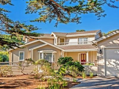 for sales at Pebble Beach Ocean Retreat 1011 Vaquero Drive Pebble Beach, カリフォルニア 93953 アメリカ合衆国
