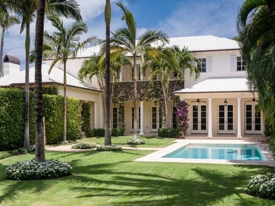 Single Family Home for sales at Palm Beach Perfection 201 Via Linda  Palm Beach, Florida 33480 United States