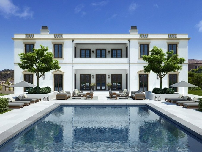 Maison unifamiliale for sales at Spectacular Bel Air Estate  Los Angeles, California 90077 United States