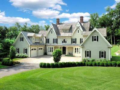 Einfamilienhaus for sales at Serenity 477 Riversville Road Greenwich, Connecticut 06831 Vereinigte Staaten