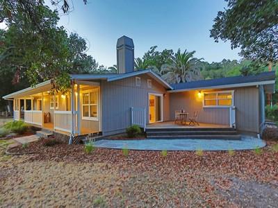 獨棟家庭住宅 for sales at Enchanting Glen Ellen 4924 Warm Springs Road Glen Ellen, 加利福尼亞州 95442 美國