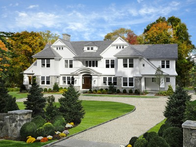 Single Family Home for sales at New In-Town Shingle Style 35 Winding Lane   Greenwich, Connecticut 06830 United States