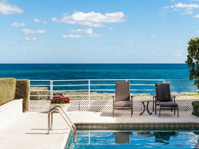Townhouse for sales at Direct Oceanfront Townhome 6 Sloans Curve Dr  Palm Beach, Florida 33480 United States