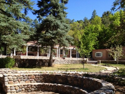 Casa Unifamiliar for sales at 48-50 Big Tesuque Canyon 48-50 Big Tesuque Cyn Santa Fe, New Mexico 87506 United States