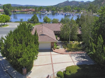 Single Family Home for sales at Dramatic Lake Views 3662 Golden Leaf Drive Westlake Village, California 91361 United States