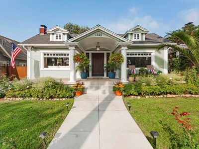 Single Family Home for sales at Turnkey Bungalow in Spaulding Square 1329 North Genesee  Los Angeles, California 90046 United States