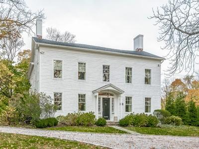 獨棟家庭住宅 for sales at Historic Masterpiece 1093 King Street   Greenwich, 康涅狄格州 06831 美國