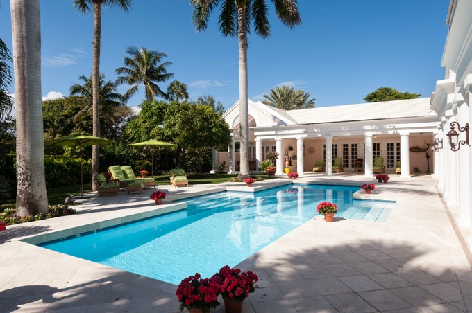 Single Family Home for sales at Beautiful Blossom Way 70 Blossom Way Palm Beach, Florida 33480 United States
