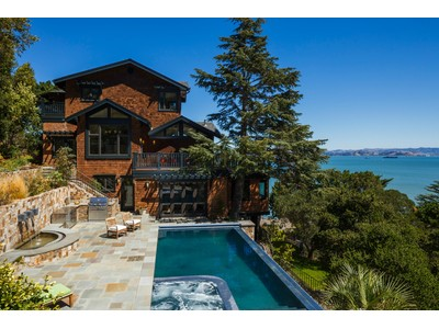 獨棟家庭住宅 for sales at Paradise Cove Residence  Tiburon, 加利福尼亞州 94920 美國