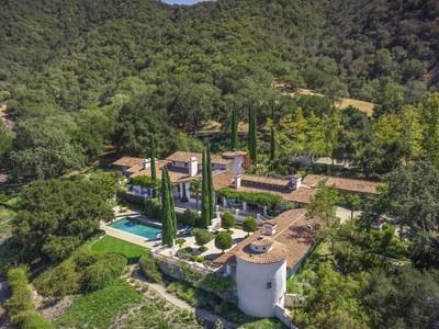 Ferme / Ranch / Plantation for sales at The Hacienda at Rancho Encantado 4000 Via Rancheros Rd Santa Ynez, Californie 93460 États-Unis