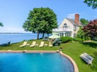 Single Family Home for  sales at Exquisite Dering Harbor Estate 27 Shore Road Shelter Island, New York 11965 United States