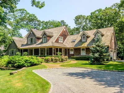Single Family Home for sales at Beautiful Home on Bridge Hill 19 Bridge Hill Lane Bridgehampton, New York 11932 United States