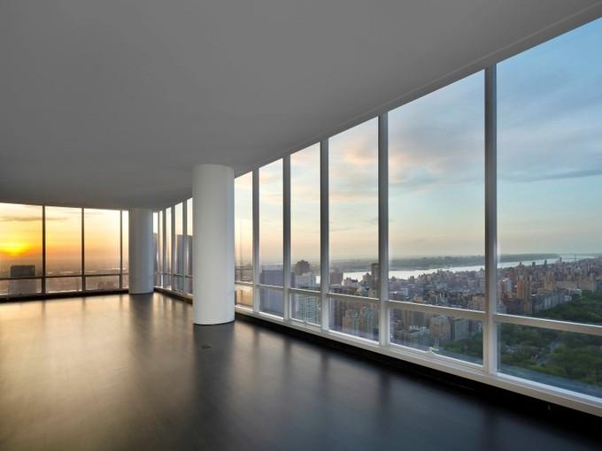 Condomínio for sales at 57 Linear Ft Overlooking Central Park 157 West 57th Street Apt 62a New York, Nova York 10023 Estados Unidos