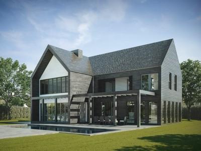 Single Family Home for sales at Modern Green Barn in Amagansett South   Amagansett, New York 11930 United States