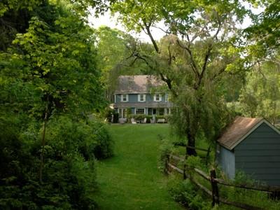 Частный односемейный дом for sales at Foothill Farm   Greenwich, Коннектикут 06831 Соединенные Штаты