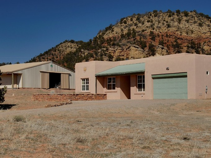 Single Family Home for sales at 10 Cougar Canyon Road 10 Cougar Canyon Rd Santa Fe, New Mexico 87508 United States