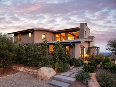 Single Family Home for sales at Castle in the Clouds 226 East Mountain Drive Montecito, California 93108 United States