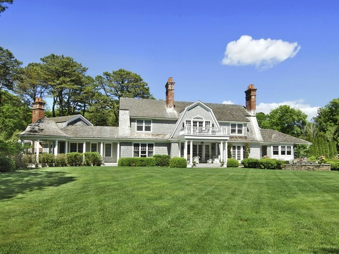 Einfamilienhaus for sales at Custom Georgica Estate   East Hampton, New York 11937 Vereinigte Staaten