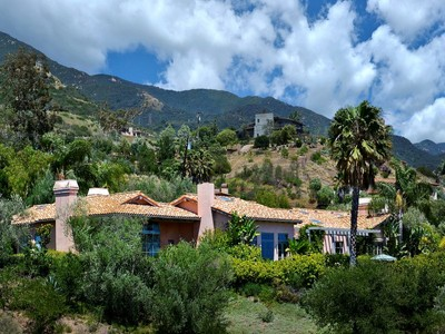 Vivienda unifamiliar for sales at Montecito Ocean View Estate 187 East Mountain Drive Santa Barbara, California 93108 Estados Unidos