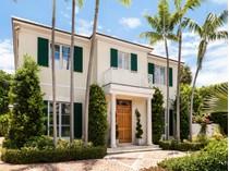 Maison unifamiliale for sales at 579 N Lake Way    Palm Beach, Florida 33480 États-Unis