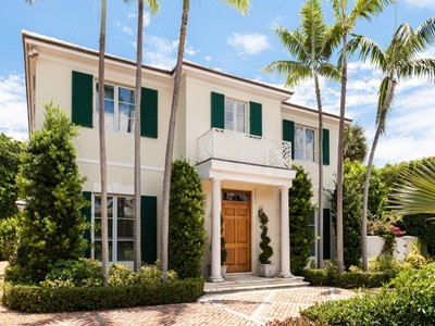 Single Family Home for sales at 579 N Lake Way   Palm Beach, Florida 33480 United States