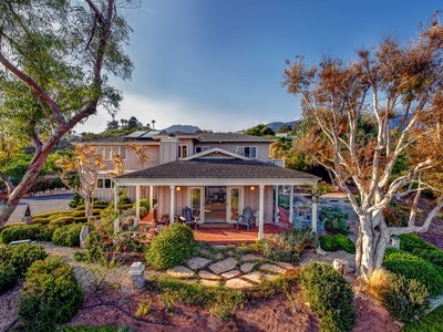 Farm / Ranch / Plantation for sales at Summerland Ocean View Ranch 350 Greenwell Avenue Summerland, California 93067 United States