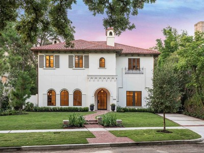Maison unifamiliale for sales at 3818 Del Monte  Houston, Texas 77019 United States
