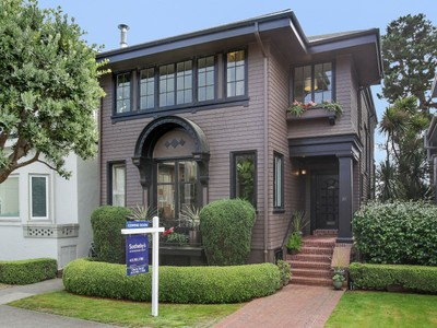Single Family Home for sales at 81 Shore View Avenue  San Francisco, California 94121 United States