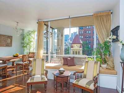 Co-op for sales at Sunny Upper East Side 2-BR with Terrace 333 East 69th Street Apt 8g   New York, New York 10021 United States