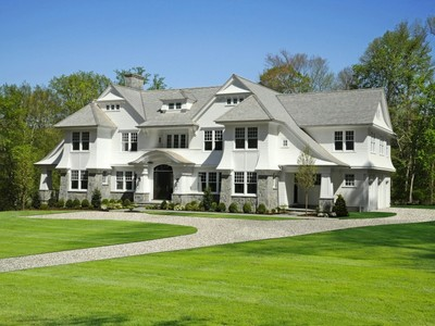 Maison unifamiliale for sales at New In-Town Shingle Style 35 Winding Lane Greenwich, Connecticut 06830 United States