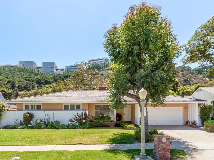 Single Family Home for sales at Mid Century Open Layout 11790 Bellagio Road Los Angeles, California 90049 United States