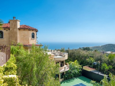Tek Ailelik Ev for sales at Exquisite Mediterranean Villa 1545 Lachman Lane  Pacific Palisades, Kaliforniya 90272 Amerika Birleşik Devletleri