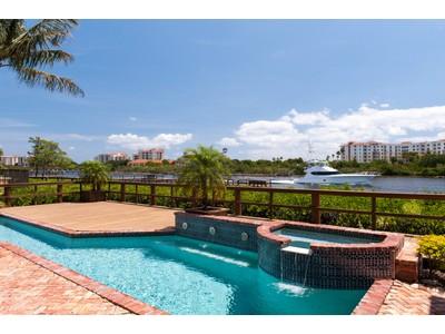 Maison unifamiliale for sales at Jonathans Landing Exceptional Waterfront 3140 Casseekey Island Rd Jupiter, Florida 33477 États-Unis