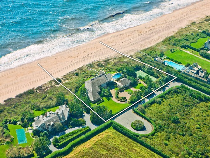 Single Family Home for rentals at Norman Jaffe Oceanfront Modern  Southampton, New York 11968 United States
