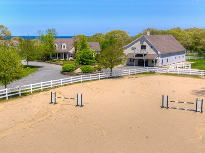 Single Family Home for sales at Ocean View Horse Farm 18 Torrey Road East Sandwich, Massachusetts 02537 United States